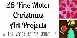 25 Fine Motor Christmas Art Projects for Kids from Lalymom sidebar