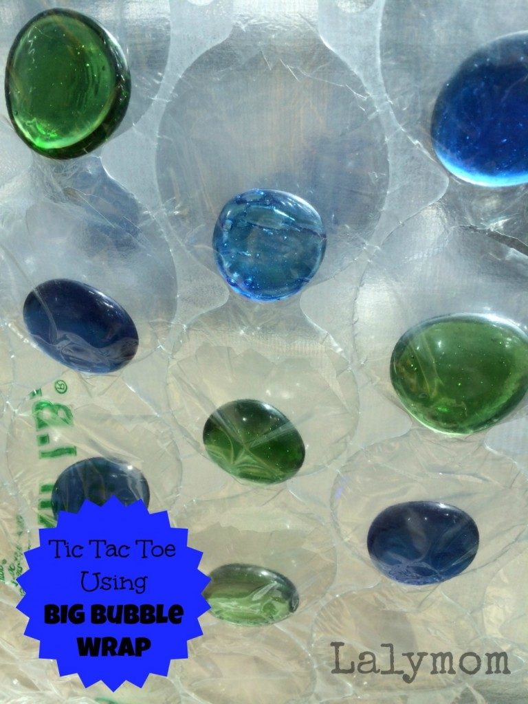 Bubble Wrap Tic Tac Toe Bubble Wrap Fine Motor Activity from Lalymom
