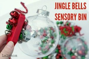 Christmas Sensory Bin for Kids - Fun Jingle Bells Activity Sidebar