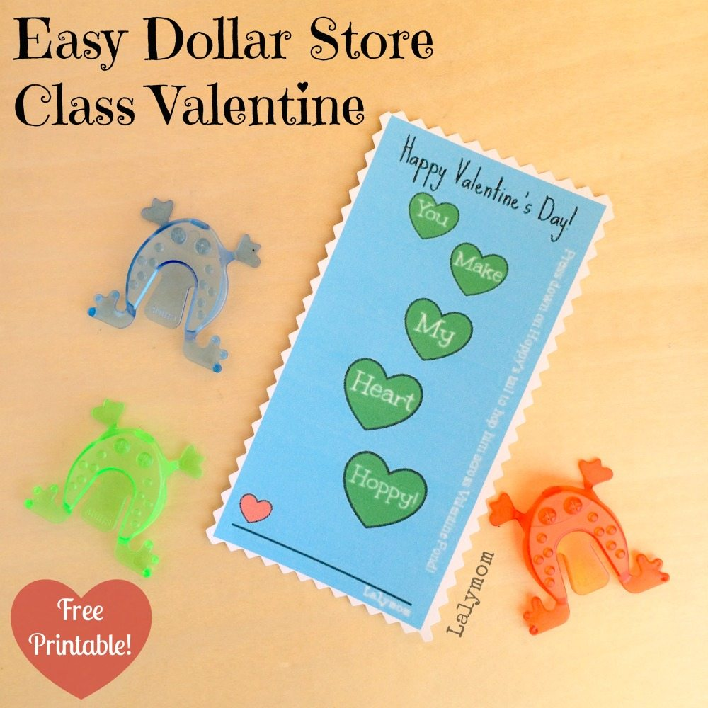 Easy DIY Valentine's Day Card from lalymom