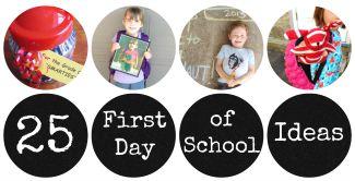 First Day of School Sidebar