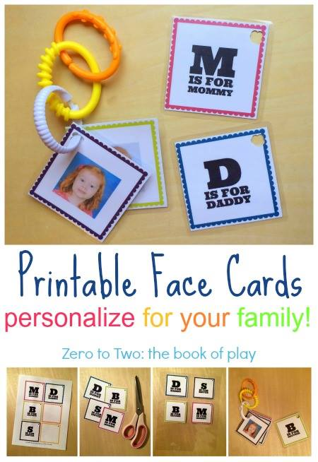 Free Printable Activities for infants and toddlers from Lalymom