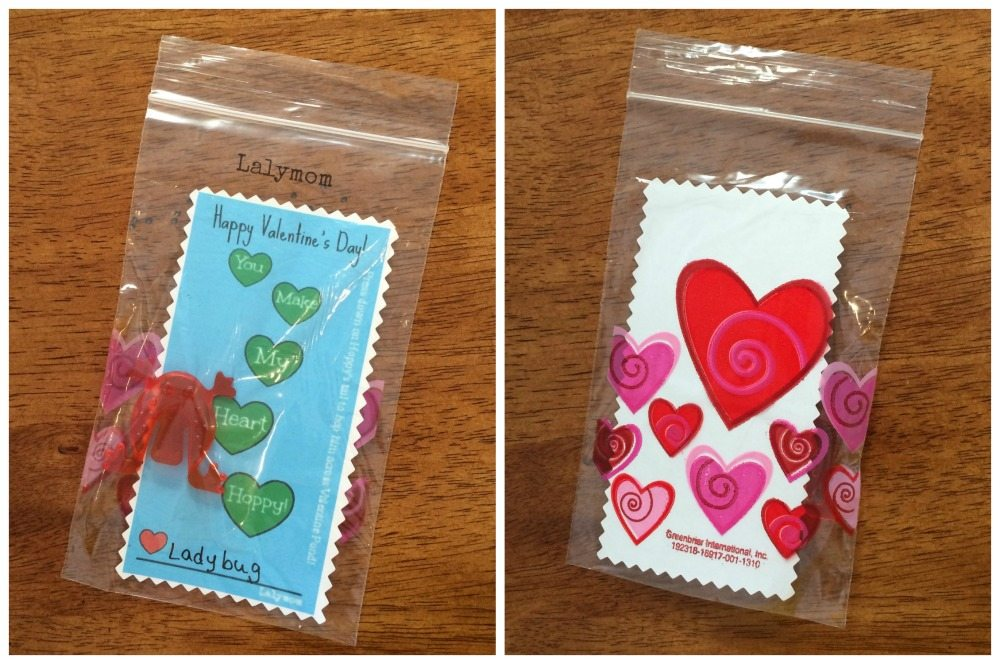Hoppy Valentine Frog Valentine from Dollar Tree from Lalymom