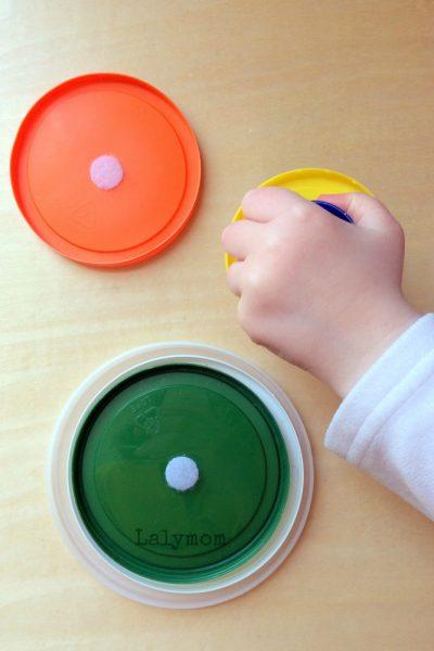 Ten DIY Velcro Fine Motor Activities for Toddlers