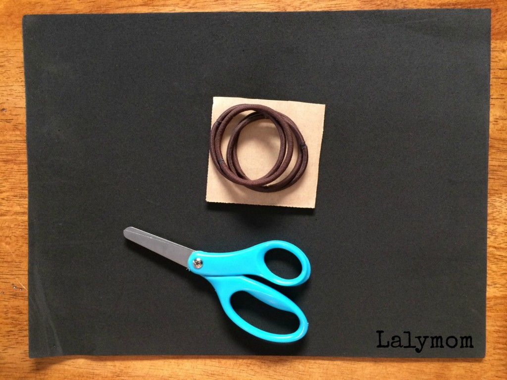 Kids Guitar DIY Fidget Ring From Lalymom