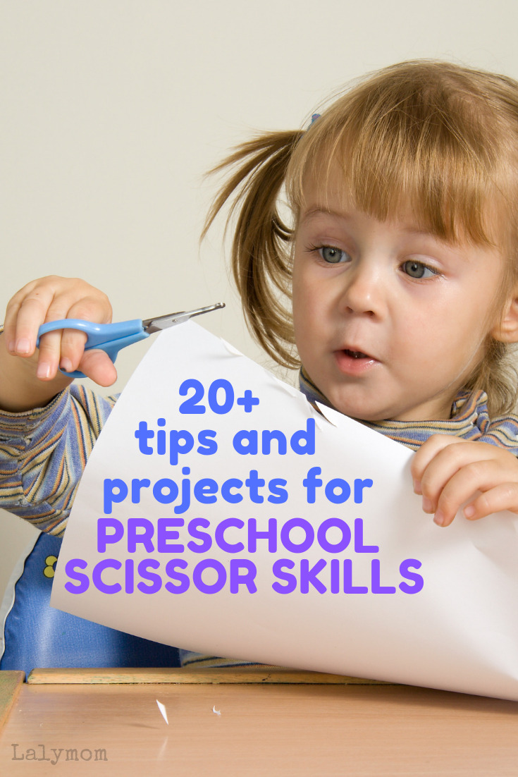 20+ tips and projects for preschool scissor skills