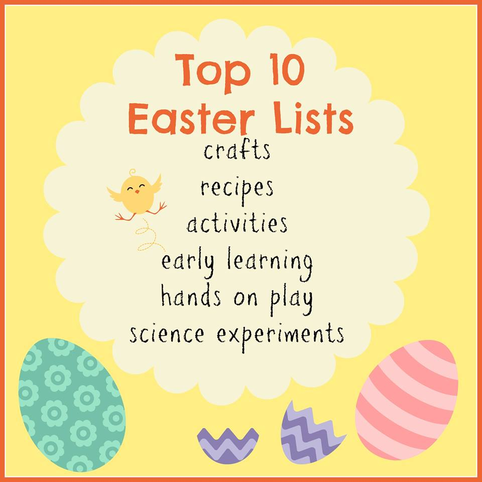 Top Ten Easter Lists for Kids
