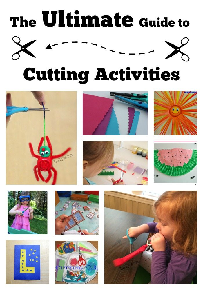 30 Perfect Cutting Activities For Preschoolers And Toddlers
