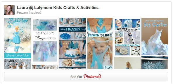 Disney Frozen Inspired Crafts Activities and Party Ideas Pinterest Board from lalymom