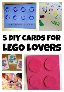 5 DIY Birthday Cards to Make for LEGO Lovers from Lalymom