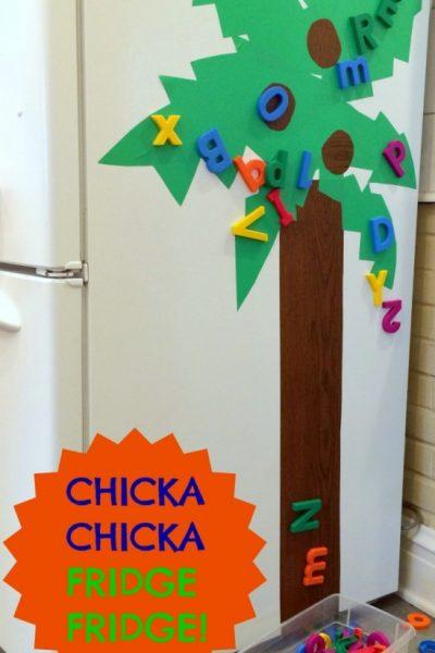 Chicka Chicka Boom Boom Tree Activity