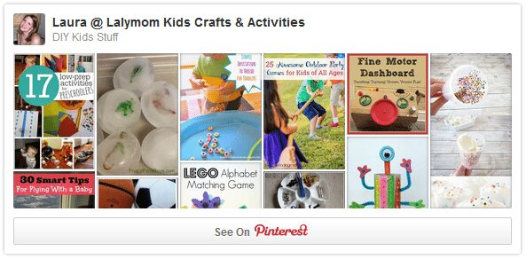 DIY Kids Stuff Pinterest Board