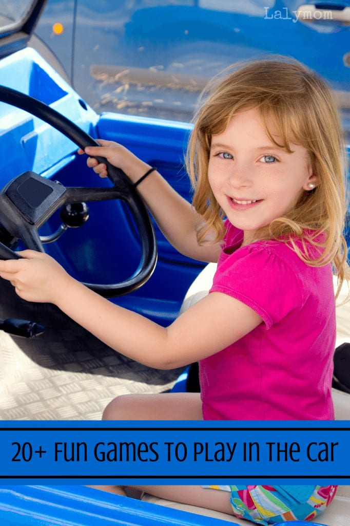 Great List of Fun Games to Play in the Car on Lalymom.com. Summer learning does not stop for roadtrips!