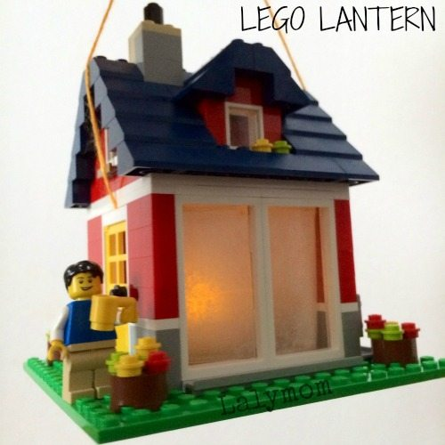 How to make a Camping Lantern Made of LEGO Bricks from Lalymom - Plus more LEGO Building ideas to check out