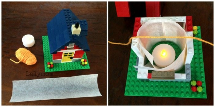 LEGO Lantern Tutorial on Lalymom