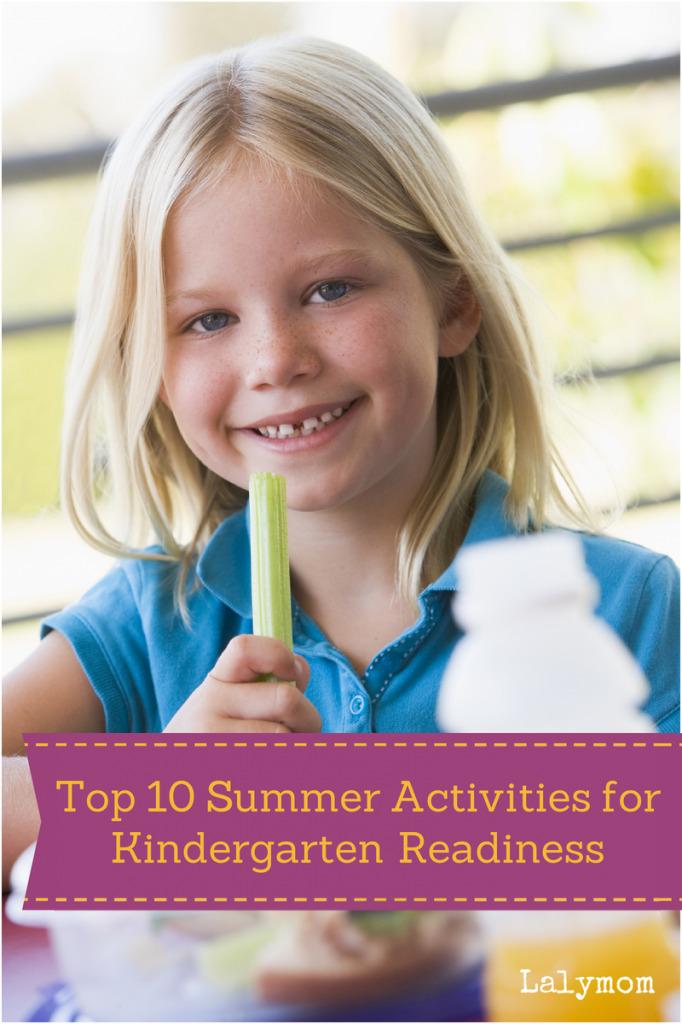 Top 10 School Readiness Activities for Summer