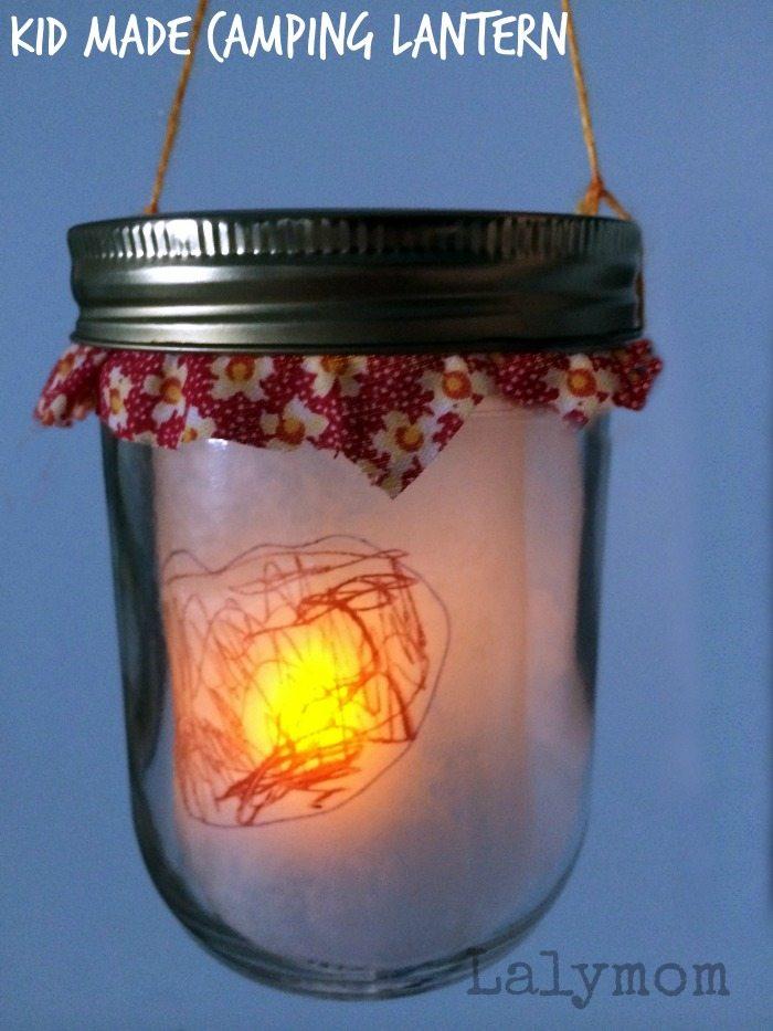 DIY Kids Campint Lantern