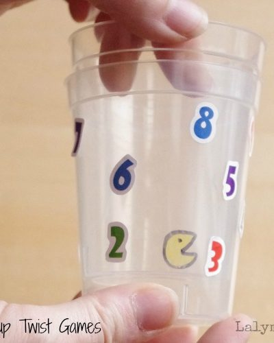 3 Cup Twisting Fine Motor Games