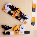 Halloween Fine Motor Skills Activity Using Pattern Craft Sticks and Clothespins - those are so cute!