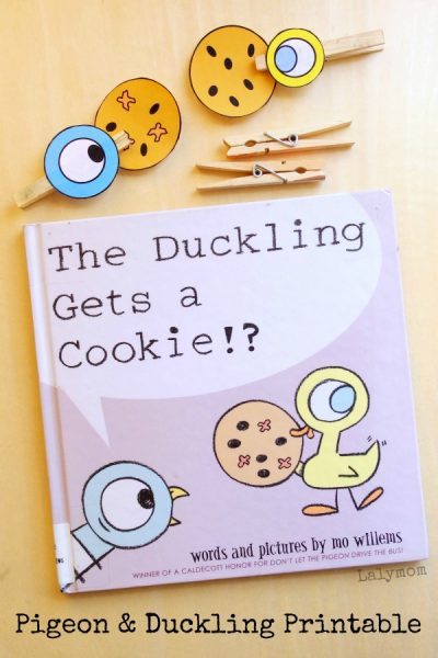 Pigeon & Duckling Book Extension Activity