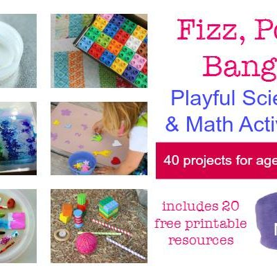Fizz, Pop, Bang! 40 AWESOME Science and Math Activities for Kids! on Lalymom.com - 20 printables are included!