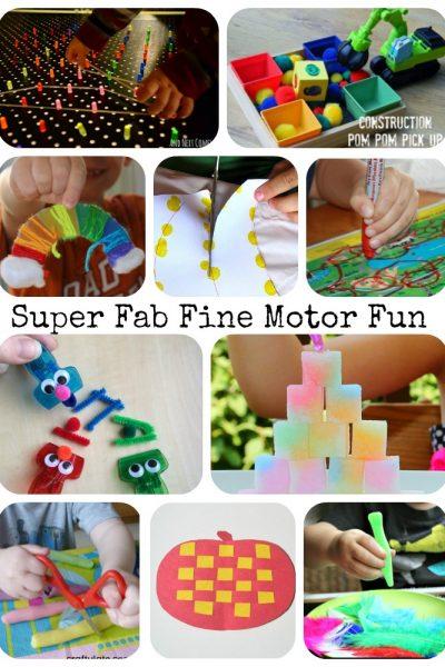 Super Fab Fine Motor Fun – It's Fine Motor Fridays Anniversary!