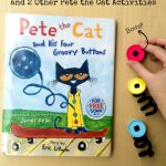Pete the Cat Groovy Buttons Book Extension Ideas on Lalymom.com - Popping Buttons Activity- my kids love this book, how fun!