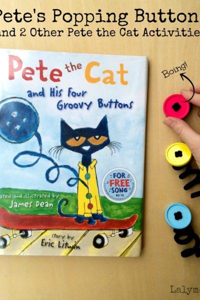 3 Pete the Cat Activities