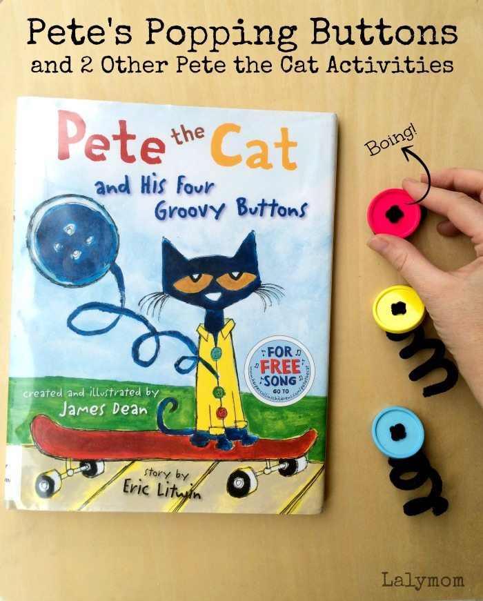 3 Pete the Cat Activities