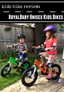 RoyalBaby Unisex Bikes for Kids and toddlers Review on Lalymom.com Part of the Kids Holiday Wishlist Reviewed Bloghop