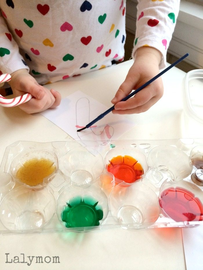 Scratch n Sniff Watercolors for Kid-Made Christmas Ornaments