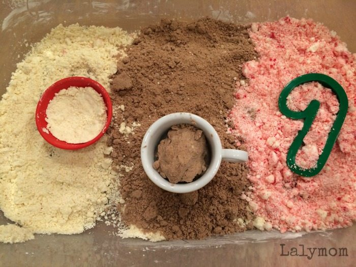 Taste Safe Scented Cloud Dough Recipe to pair with Sweet Smell of Christmas childrens book. Great holiday book activity!