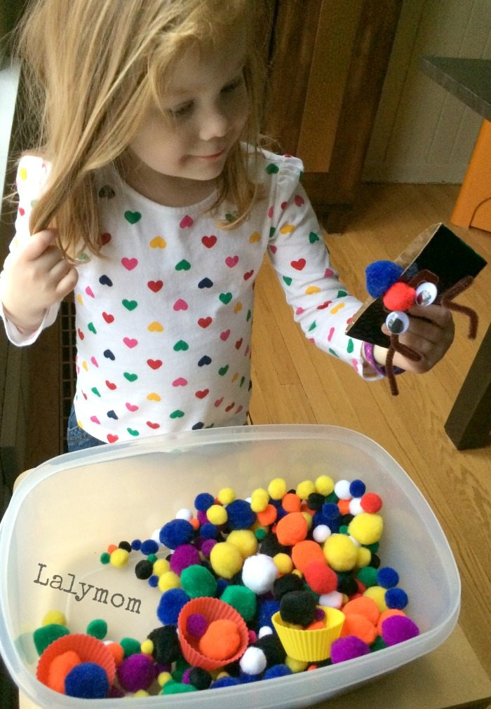 3 Christmas Themed Fine Motor Activities Using coffee sleeves on Lalymom.com - click through to see all the ideas.