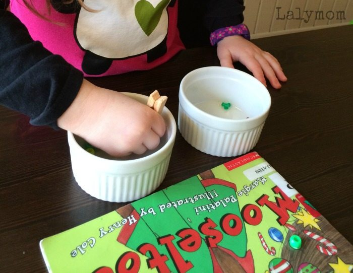 3 Mooseltoe Moosestache Activities on Lalymom.com - Click through to see all three book extension ideas!