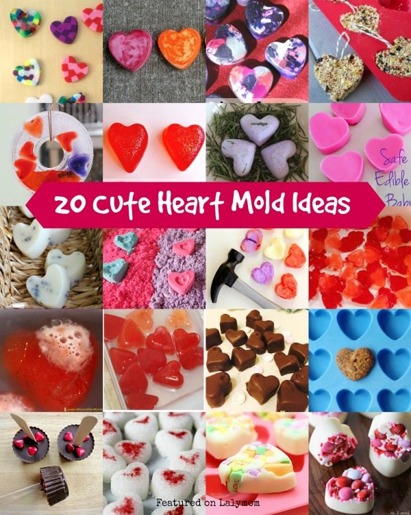 20 Cute Heart Mold Valentine's Day Gift Ideas
