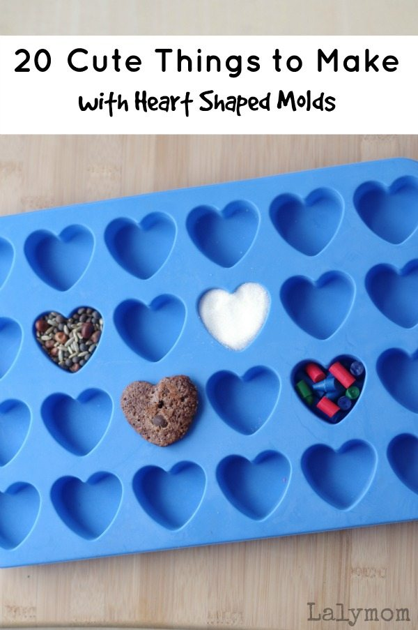 20 Cute Valentine S Day Gifts Using Heart Shaped Moulds