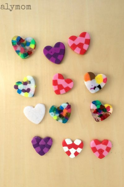 Make Valentine's Day Magnets with Melted Pony Beads