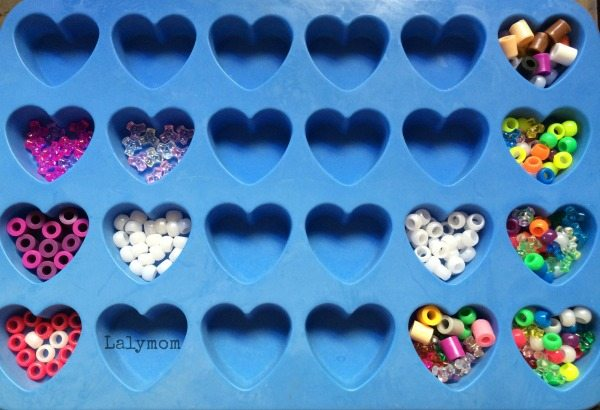 Melty Beads, Melted Pony Beads and Tri-Beads Hearts and Melty Beads tips for making Valentine's Day magnets