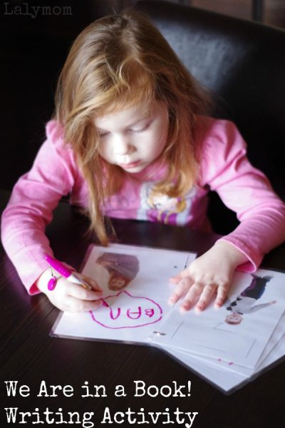 Writing Activities for Kids Inspired by the Mo Willes Elephant and Piggie Book We Are in a Book