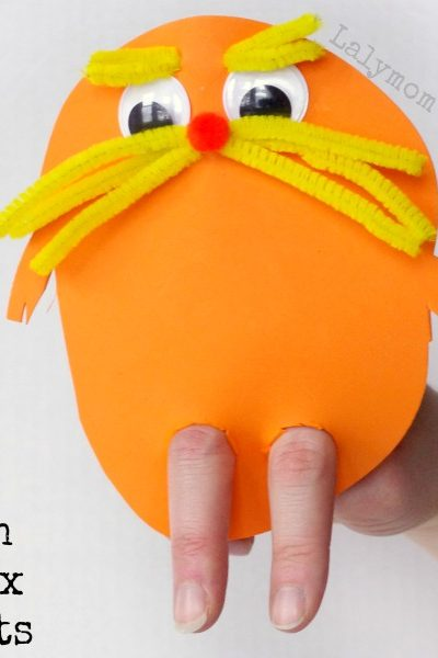 3 Fun Preschool Crafts Inspired by the Dr. Seuss Book The Lorax - Click through to see more Seuss ideas!
