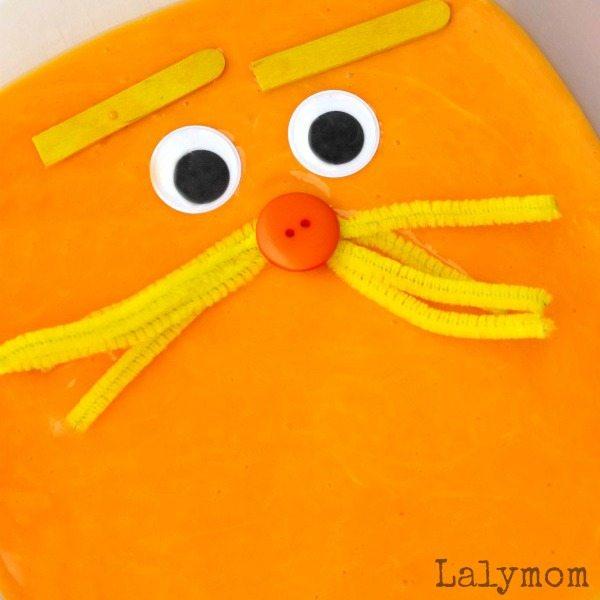 4 Seuss Inspired Slime Recipes - Lorax Slime