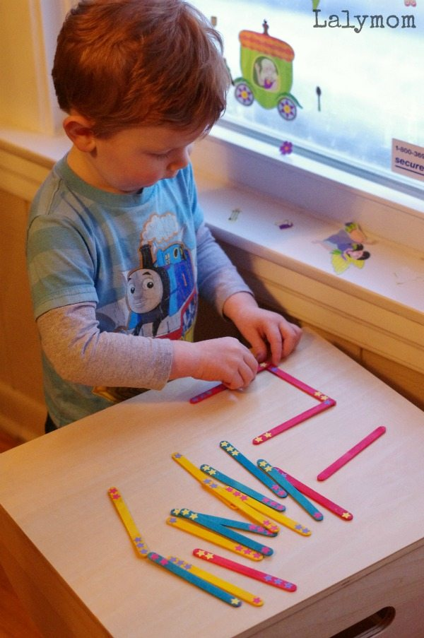 Dr. Seuss Activities and Crafts for Kids -Seuss Sticks are great for dominoes, shapes and math manipulatives