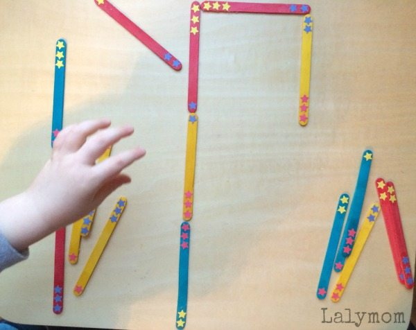 Dr. Seuss Activities - DIY Dominoes from Crafts Sticks - great math manipulatives too!
