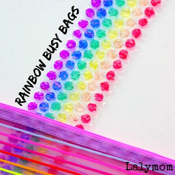 Rainbow Activities for Kids' Busy Bags
