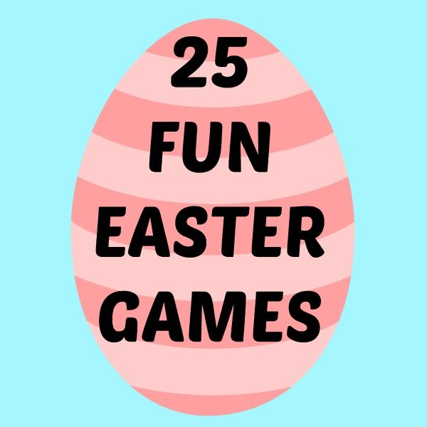 25 Fun Easter Games for Kids on lalymom.com #easter #games #eastergames #kids #activities #toddler #preschool #elementary #school #party