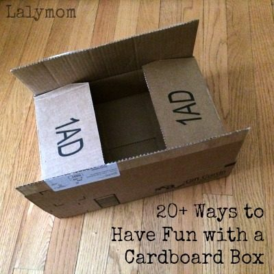 Cardboard Crafts for Kids – 20+ Ways to Have Fun With a Cardboard Box