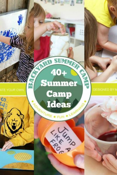 Join Us For the Back Yard Summer Camp for Kids!