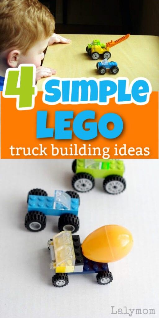 4 Lego Truck Building Ideas