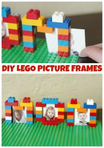 LEGO Week! DIY LEGO Picture Frames - Ideas for Mother's Day, Father's Day and Any Day!