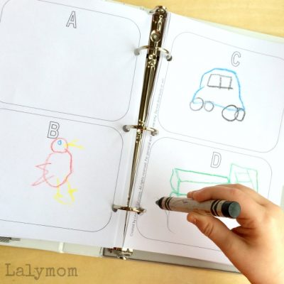 Road Trip Games for Kids - Free Printable Road Trip Pictionary Book and more from the Busy Bags Blog Hop.